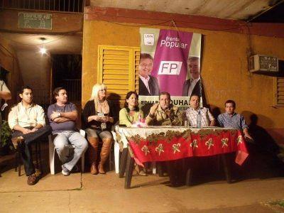 """Puerta: """"Soy el único candidato que garantiza un respeto por la soberanía de los misioneros"""""""