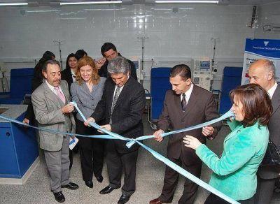 Hospital de Concarán: Inauguraron Centro de Nefrología y Diálisis
