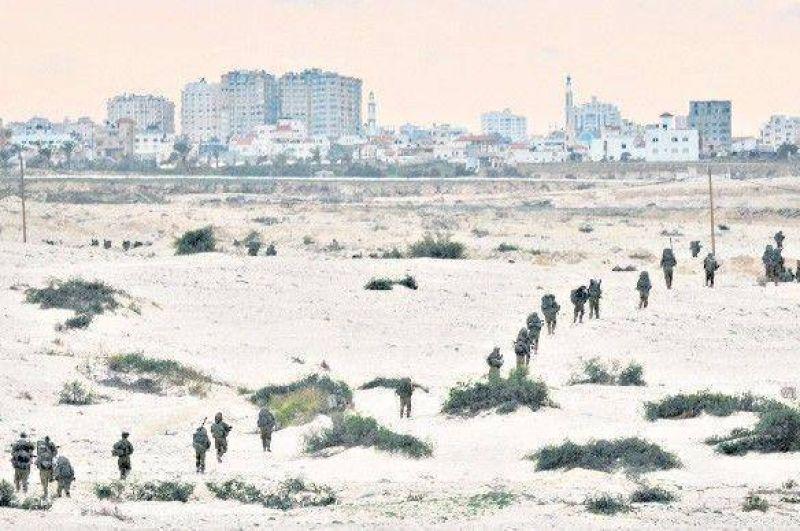 Violentos combates en la ciudad de Gaza