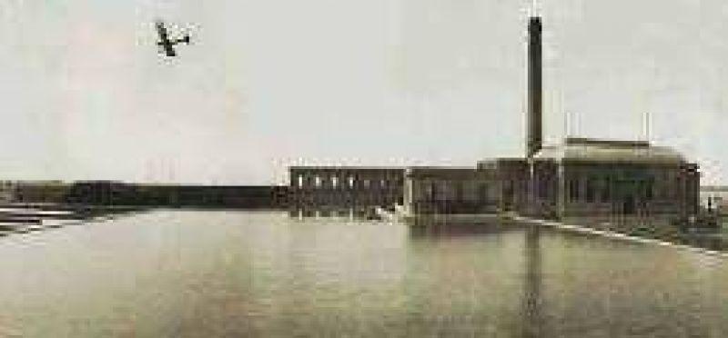 Descubren las ruinas de la primera planta potabilizadora de agua