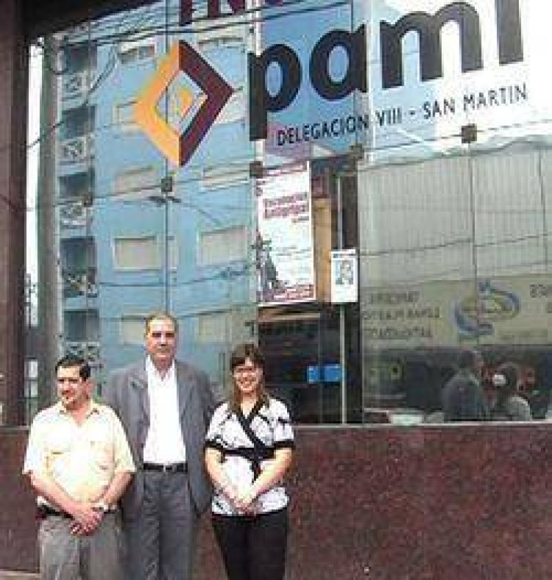 Los concejales Gozo y Alvarez se reunieron con autoridades del Pami