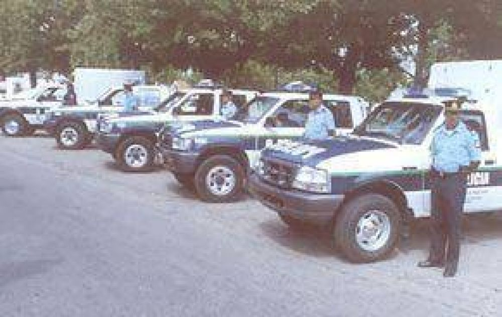 Mañana a las 10,30  Llega el Ministro de Seguridad con 22 móviles policiales para Pilar