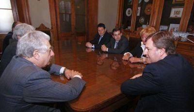 Duclós recibió al Ministro de Trabajo de la Provincia