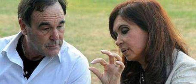 Por un rato, Olivos fue Hollywood y Cristina una estrella