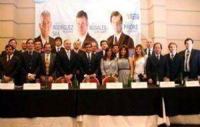Rosales presentó sus propuestas y sus equipos técnicos para gobernar