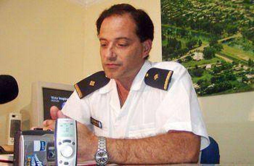 El nuevo subcomisario de la Policía Federal se presentó ante la ciudadanía