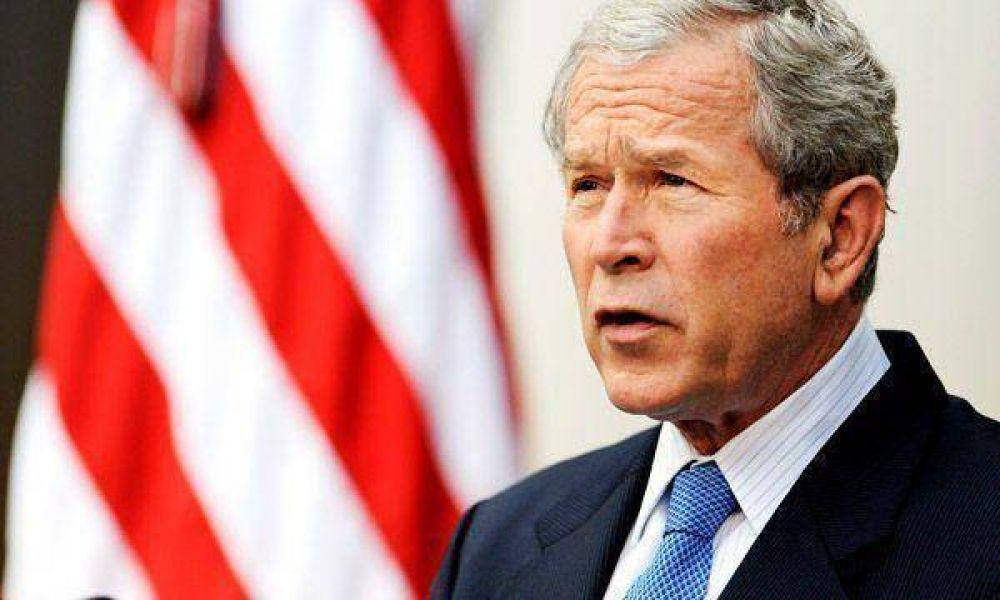 Bush brindó último discurso en la Presidencia de EEUU