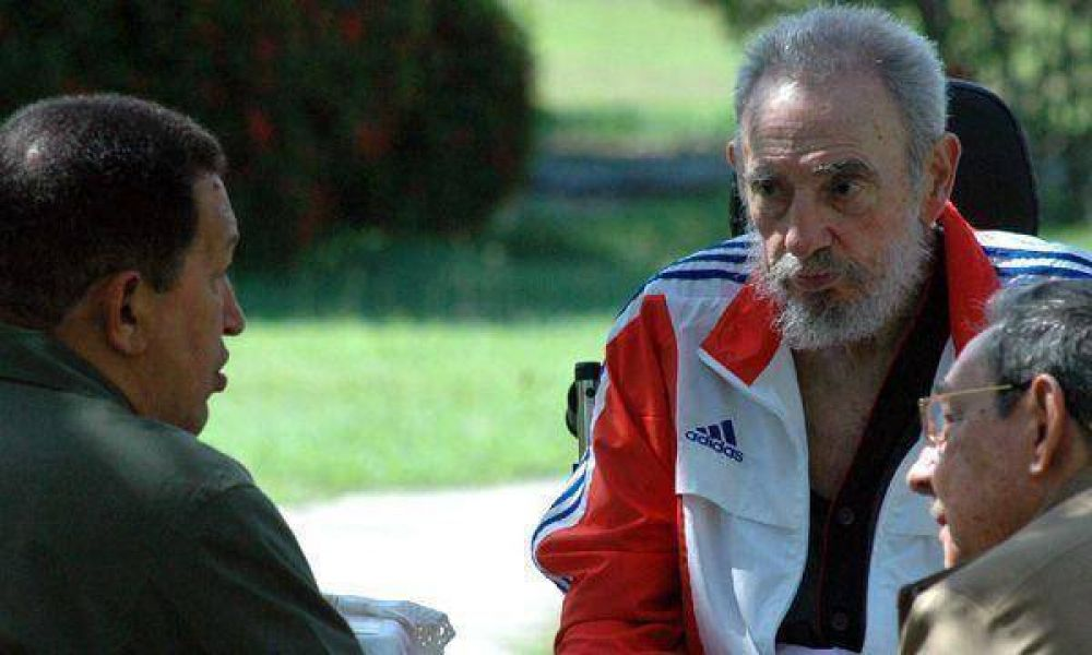 Ahora Hugo Chávez dice que el dictador Fidel Castro está