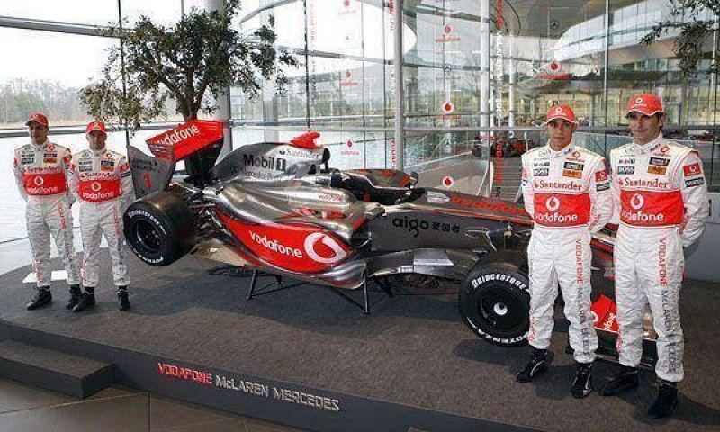 McLaren apunta a ganar los dos títulos en 2009