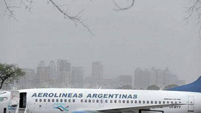 La ceniza volvió a la Ciudad y complicó aeropuertos y rutas