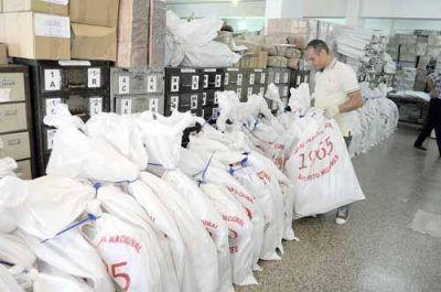 La secretaría electoral inicia hoy la distribución de urnas