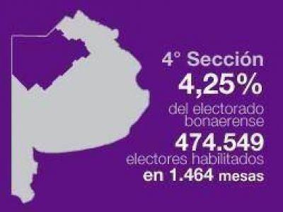 Elecciones Generales 2011: Cuarta sección elige Intendente, Gobernador y Presidente