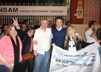 Gabriel Katopodis sucederá a Ricardo Ivoskus en San Martín