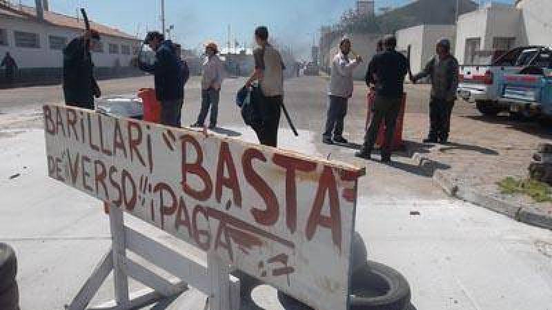 Manifestaron frente al Astillero Mar del Plata