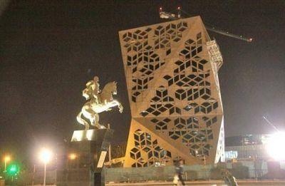 Provincia reanudó en Carlos Paz monumento a Bustos sin permiso municipal