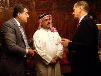 Binner se reunió con embajadores de países árabes