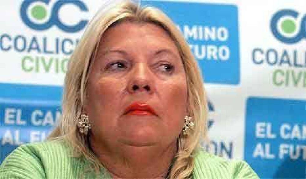 Carrió quiere ser presidenta y tener ministros peronistas en su gabinete
