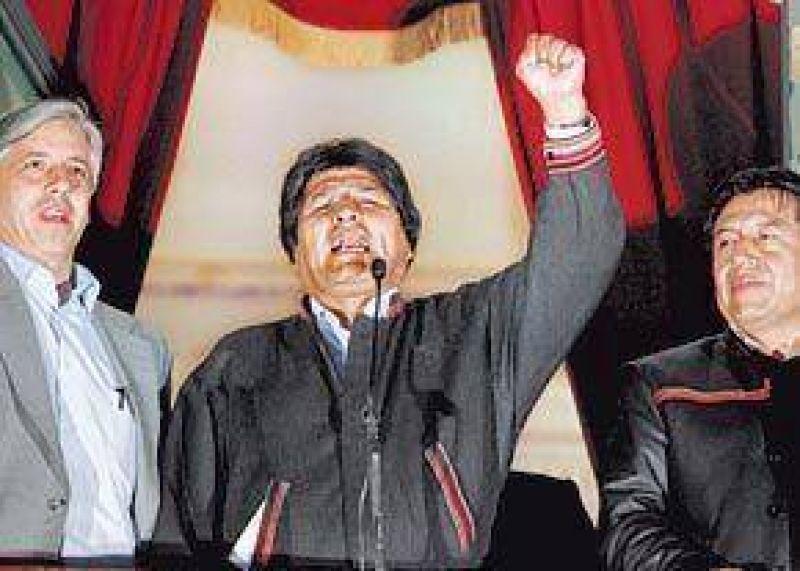 El gobierno de Bolivia analiza si adelanta las elecciones generales