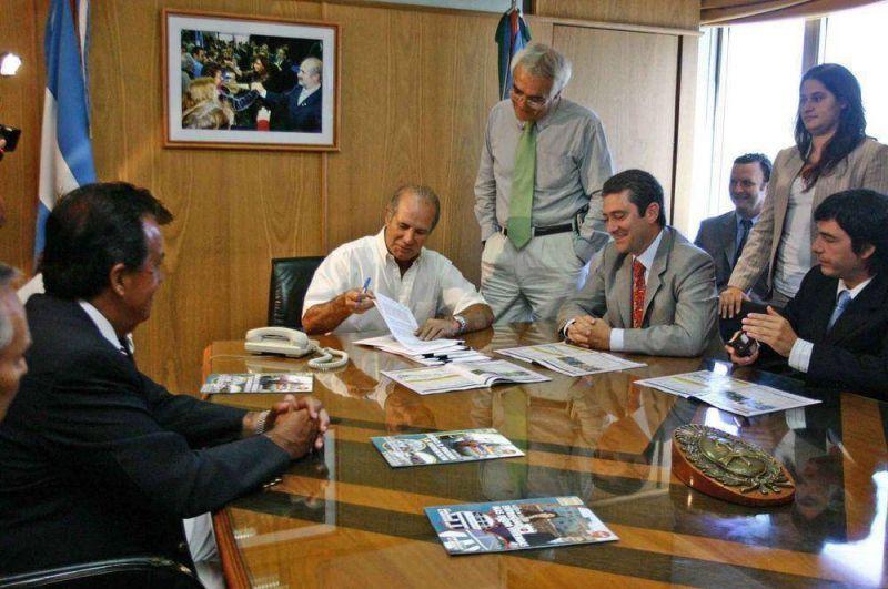 Actividad Municipal  El Municipio conform� la nueva SAPEM-Seguridad Vial