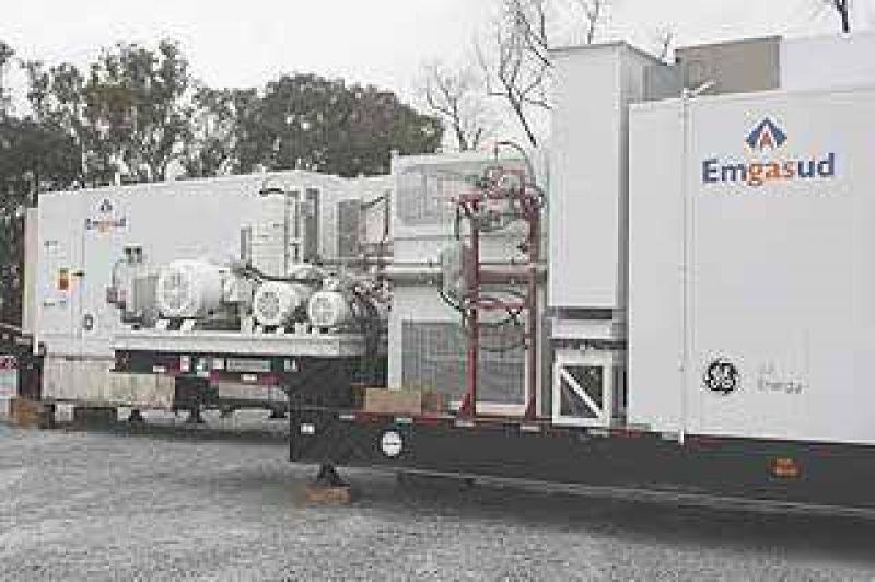 La Central Térmica de Emgasud se inauguraría en abril: ya se desarrolla la obra civil en Olavarría.