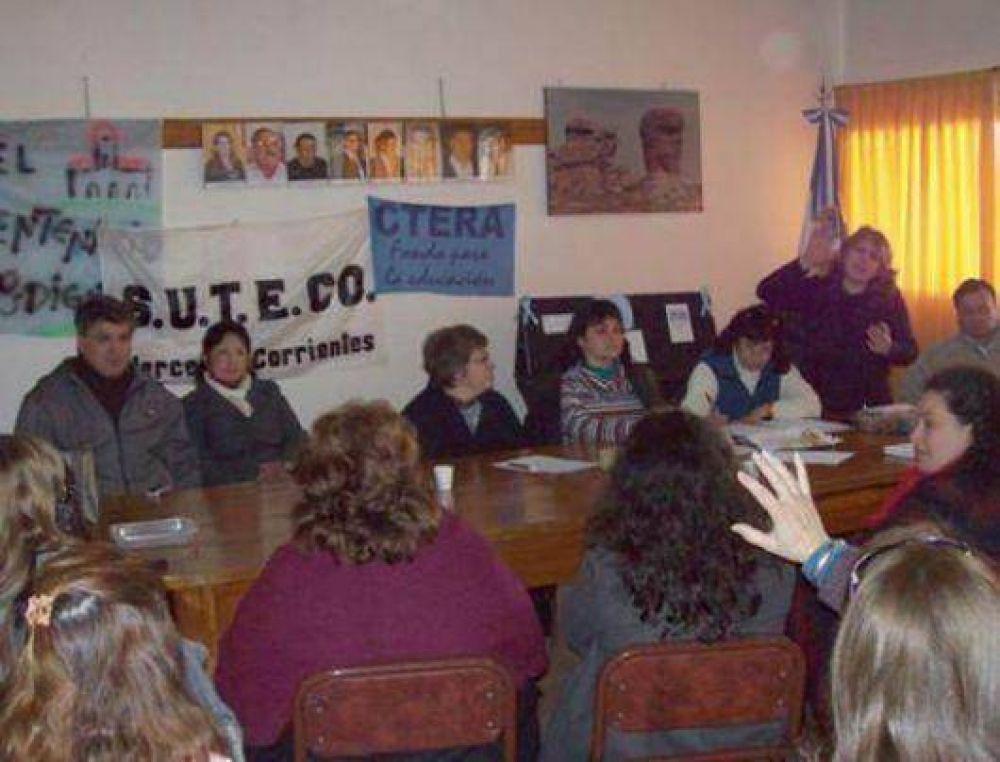 Suteco ratificó reclamos por sueldos y condiciones edilicias