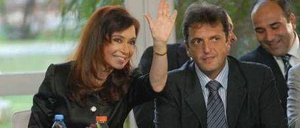 Cristina anunció obras y defendió el rumbo económico: