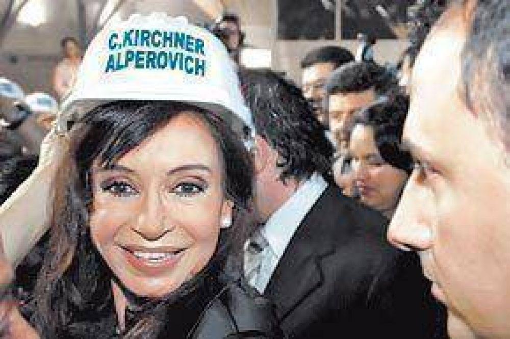Cristina comparó a Obama con Kirchner