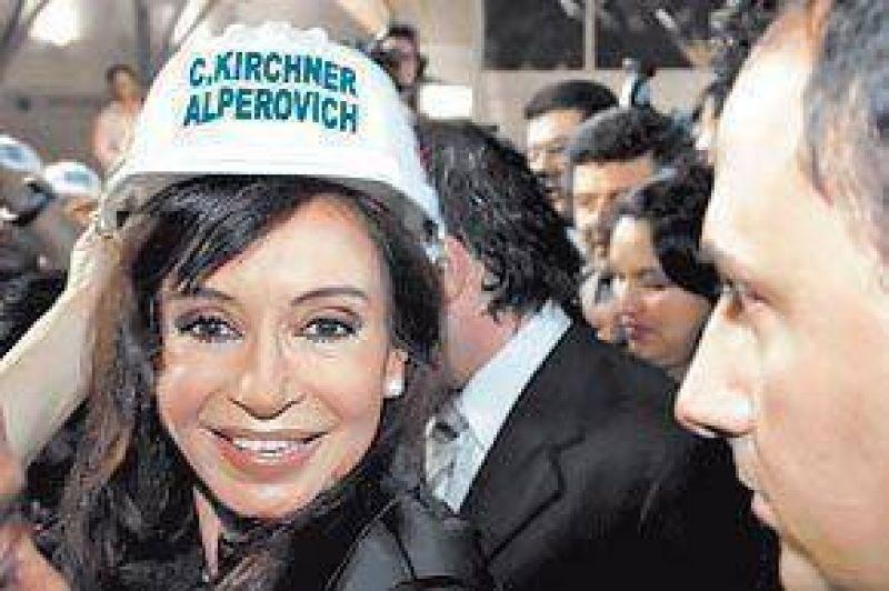 Cristina compar� a Obama con Kirchner