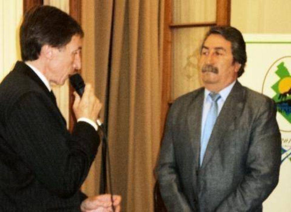 El intendente San Pedro inició su segundo mandato en la comuna