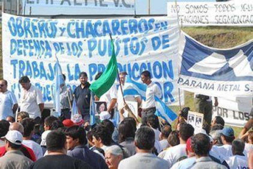 Trabajadores de Paraná Metal reclaman el cumplimiento del acuerdo