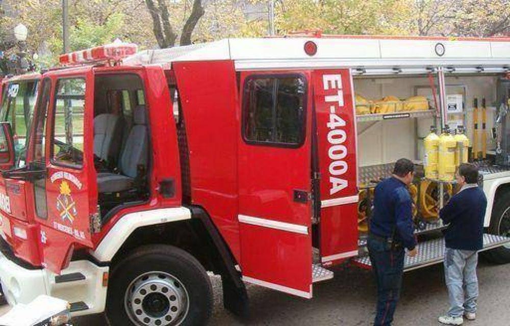 Se afecta una partida de 1,50 pesos bimestral de una tasa municipal para Bomberos Voluntarios