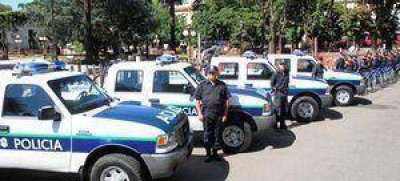 POR EL SISTEMA DE LEASING  Dami�n Itoiz anunci� que ser� autorizada la compra de cinco nuevos m�viles policiales