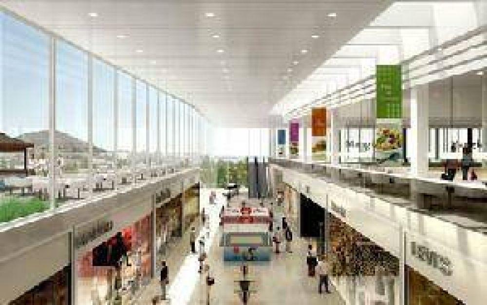 Comodoro: Tendra un shopping con 185 locales comerciales.