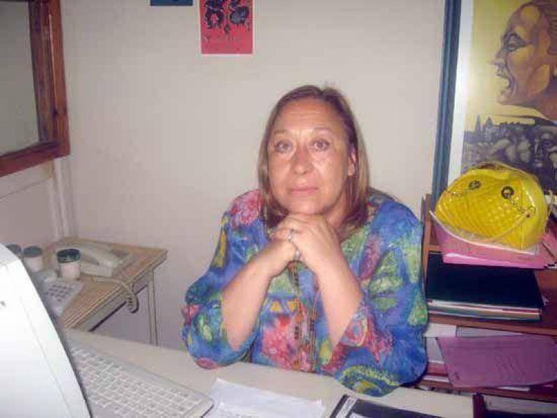 """Norma Guerra opina que la reunión del lunes por seguridad """"sirvió y mucho: los vecinos de San Vicente no bajan los brazos""""."""
