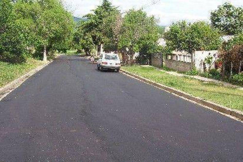Pavimentación en zona norte de La Merced
