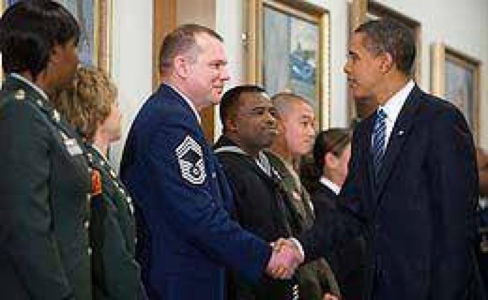 Obama visitó por primera vez el Pentágono y aseguró que tiene
