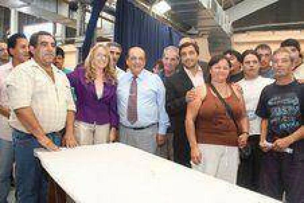 Berazategui es la prueba piloto del programa nacional