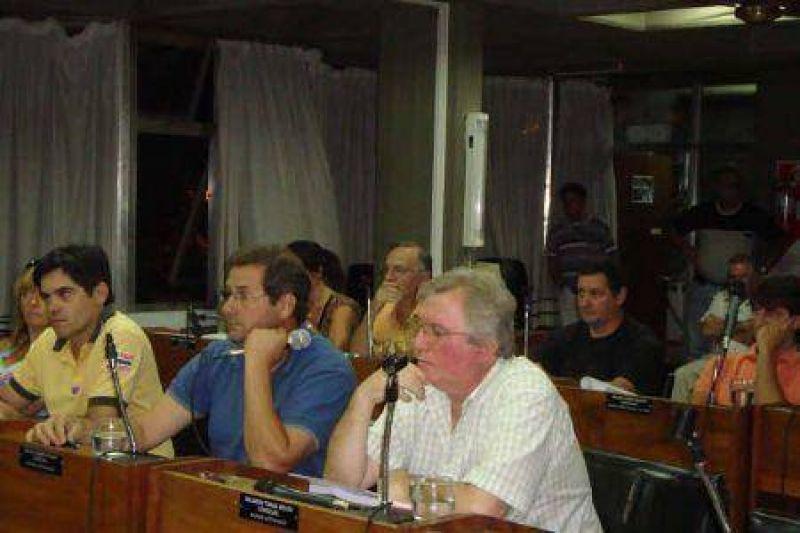 Concejo Deliberante Sesión extraordinaria por la salud