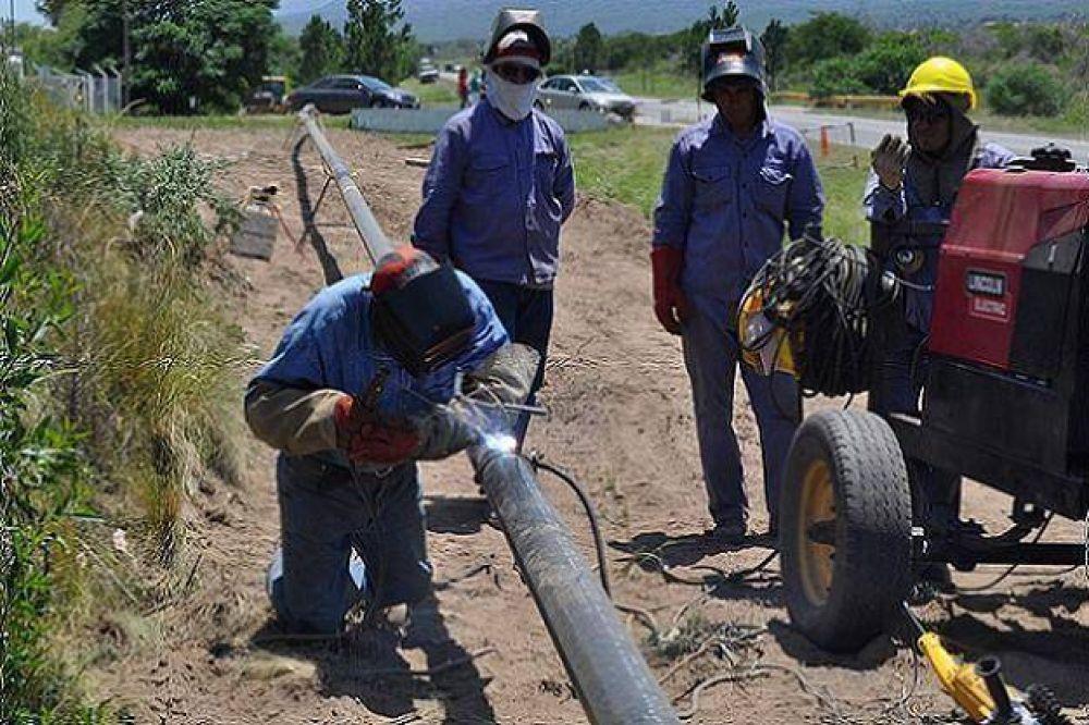 Obra Pública: Verifican el avance de construcciones en los departamentos Chacabuco y Junín