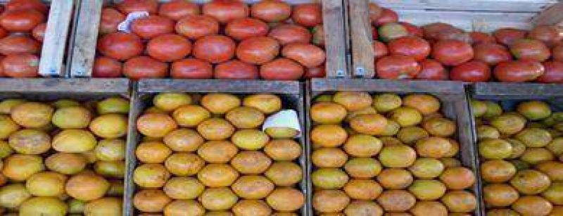 Los precios en frutas y verduras bajaron un 97%.