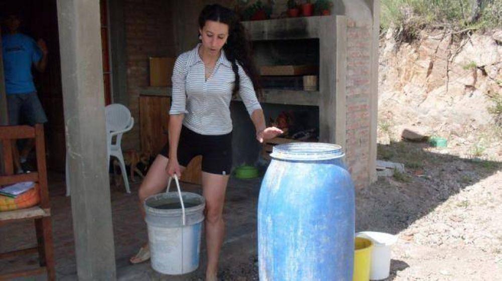 Sin agua, ahora es La Granja la que entra en emergencia hídrica