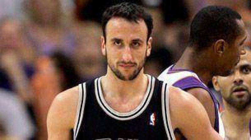 Mágica noche de Ginóbili en el triunfo de los Spurs.