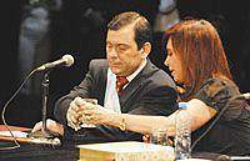 Zamora acompañó a la Presidenta en Córdoba