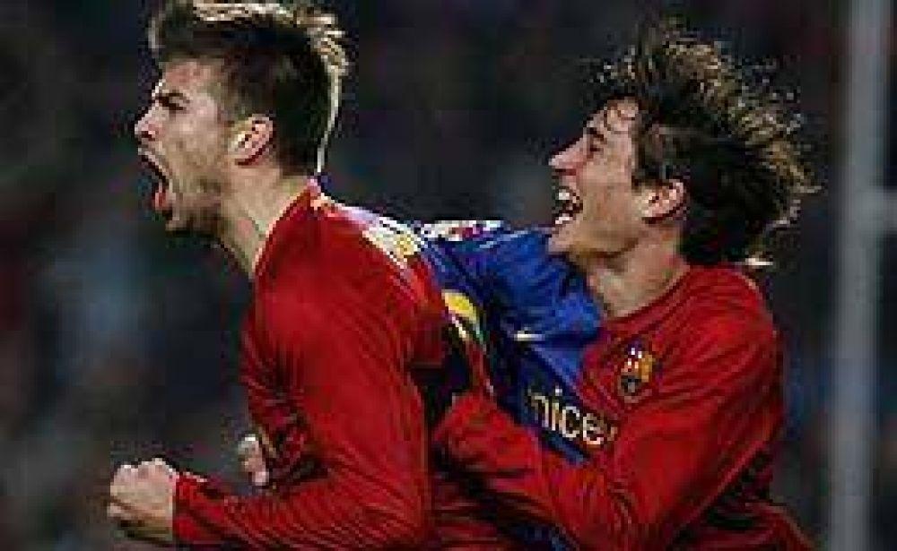 Con susto, Barcelona pasó a las semifinales de la Copa del Rey.