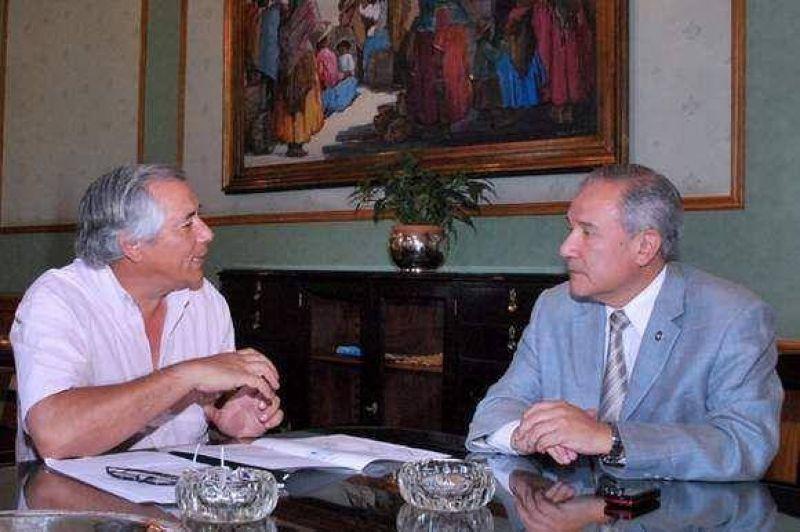 Barrionuevo se reunió con el Intendente de ciudad Perico