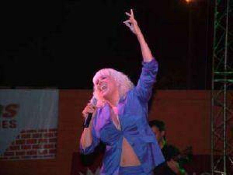 Valeria Lynch cantará en el aniversario 131º de Resistencia