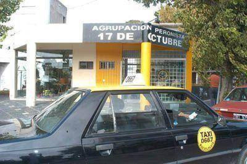 Peones de Taxis se declararon en en estado de alerta y movilizaci�n