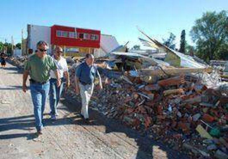Las pérdidas por el tornado llegarían a los $ 10.000.000.