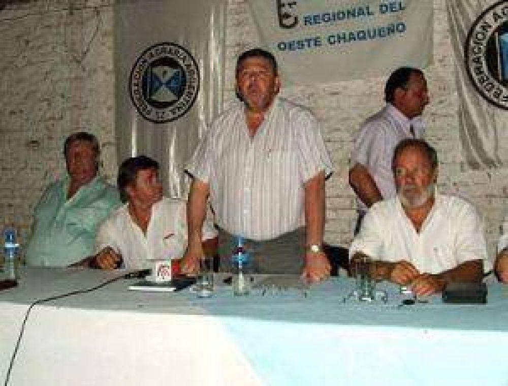 El campo del Chaco avala a la Comisión de Enlace y hará un paro de tranqueras adentro