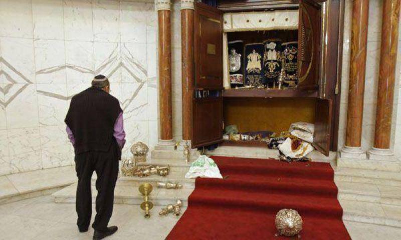 Escalada antisemita: ahora destrozaron la mayor sinagoga de Venezuela.